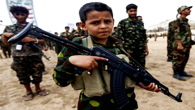 What is behind the rising number of child soldiers?