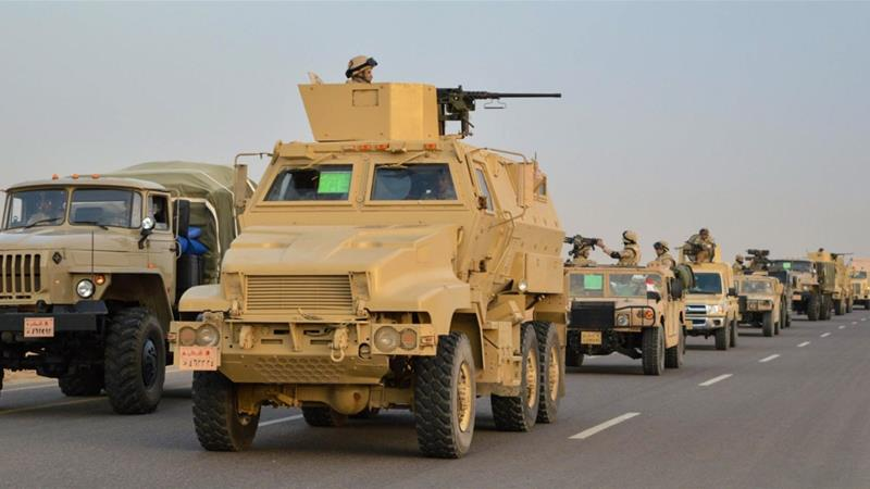 Egypt escalates army operations in Sinai