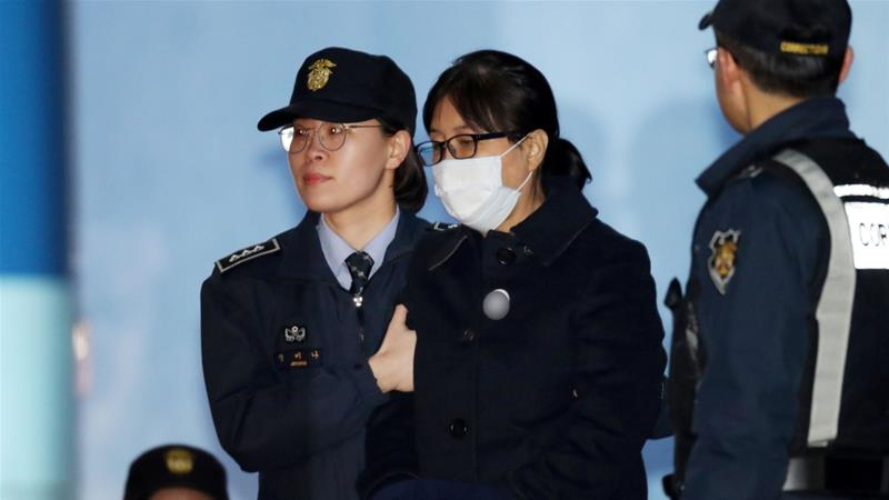 S Korea: Choi Soon-sil jailed 20 years for corruption