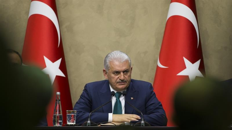 Yildirim said 'every option (on Qandil) is on the table' [File: Reuters]