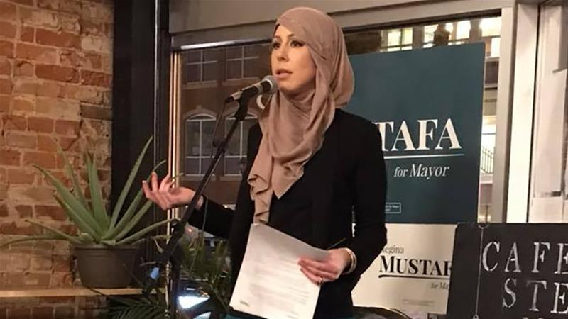 Mustafa said she largely felt welcome in Rochester despite occasional confrontations [Twitter]