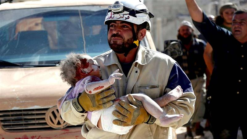 Israel evacuates 800 Syrian 'White Helmets' to Jordan