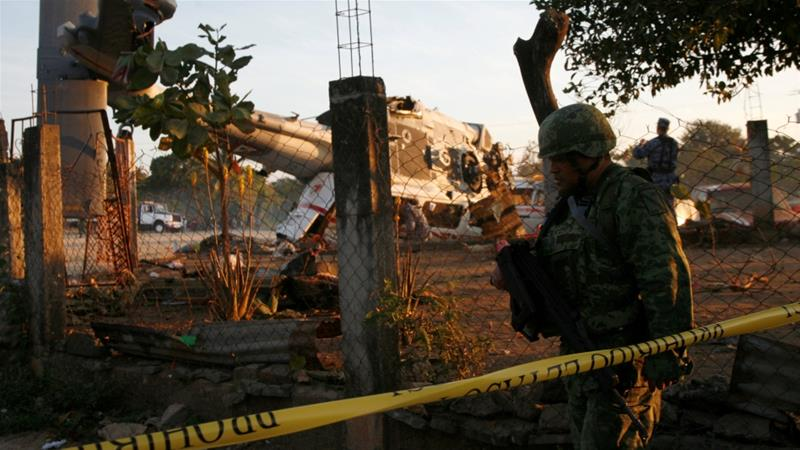 Mexico Minister helicopter crash