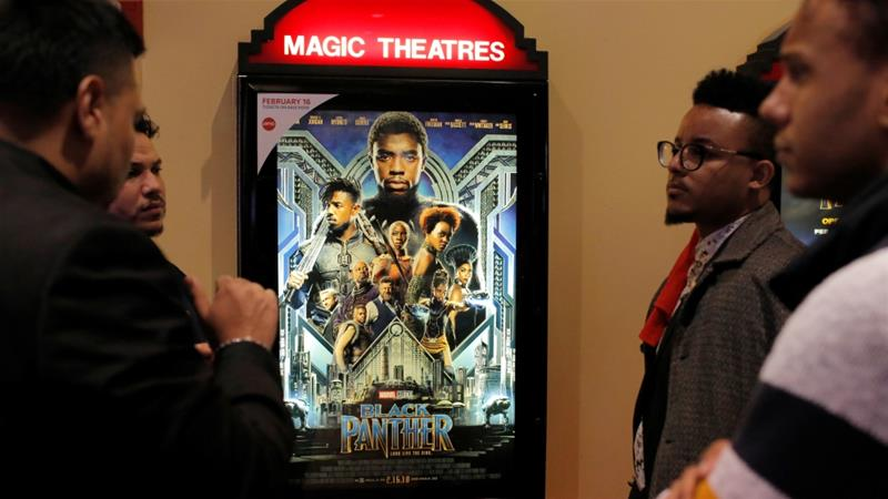 The film Black Panther premiered in theatres around the world on February 16 [Reuters/Andrew Kelly]