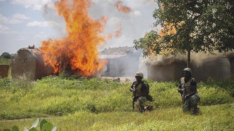 Nigerian soldiers have made gains against Boko Haram fighters in recent years [File: EPA]