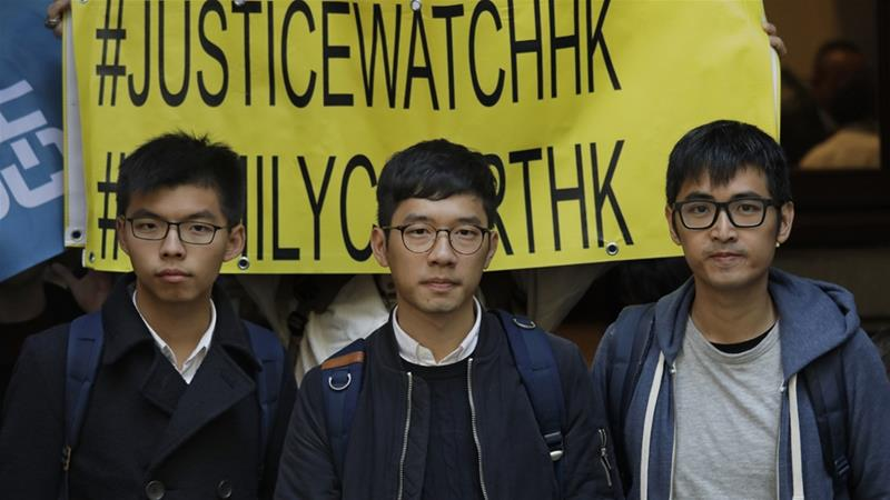 Hong Kong pro-democracy activists nominated for Nobel Peace Prize