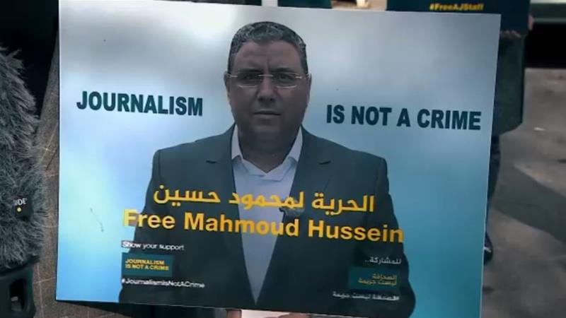 According to Egyptian law, the maximum time a person can be held for interrogation is two years. If Hussein remains imprisoned, he will hit that threshold in December 2018 [Al Jazeera]