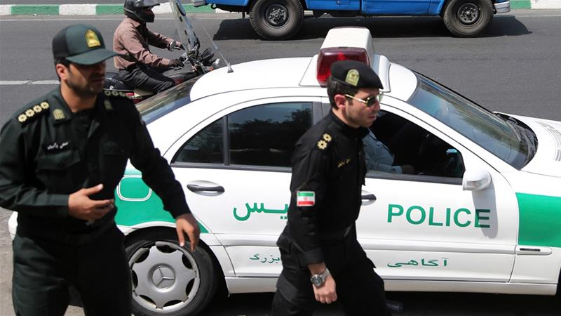 On the night of February 19, 5 Iranian security officers were killed in clashes with Gonabadi Dervishes [File: Ebrahim Noroozi/The Associated Press]