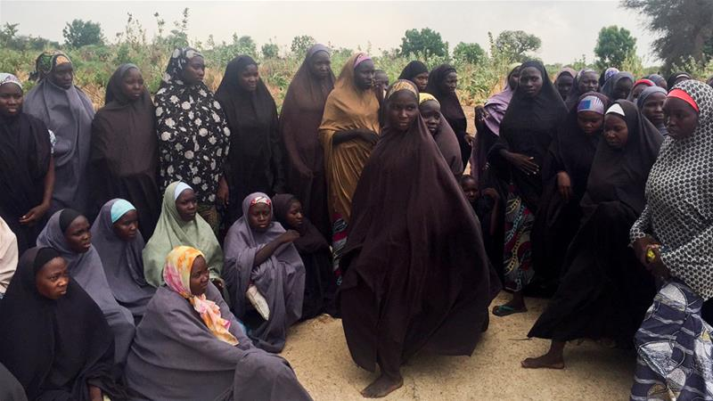 Boko Haram claimed responsibility for abducting nearly 300 schoolgirls in Chibok, Nigeria, in 2014 [Zanah Mustapha/Reuters]
