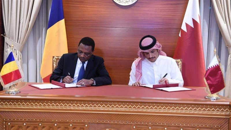 Chad and Qatar have signed a MoU restoring diplomatic relations [Ministry of Foreign Affairs]