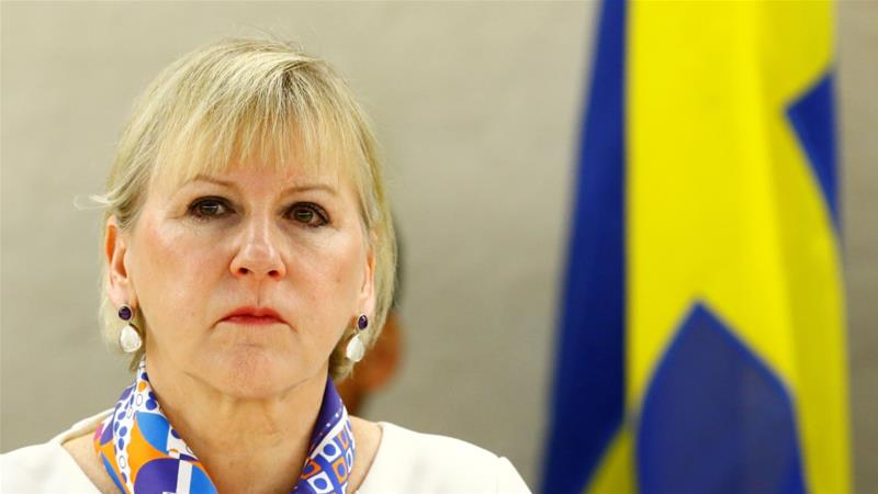 Israel deliberately picked diplomatic fights with Sweden by misinterpreting or exaggerating Swedish Foreign Minister Margot Wallstrom's statements, writes Persson [Reuters]