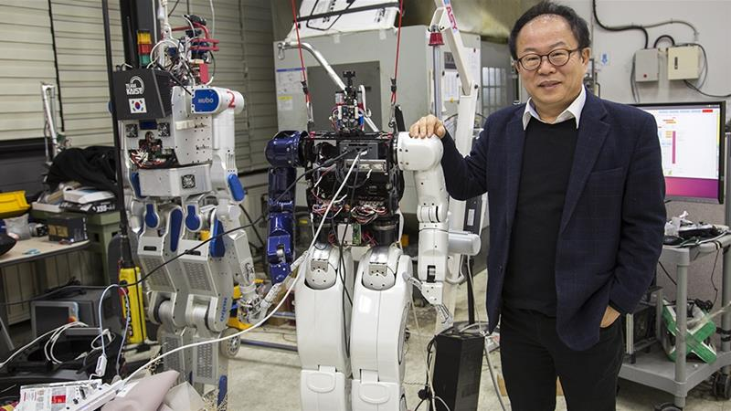 Winter Olympics, Hubo and future of robots in South Korea