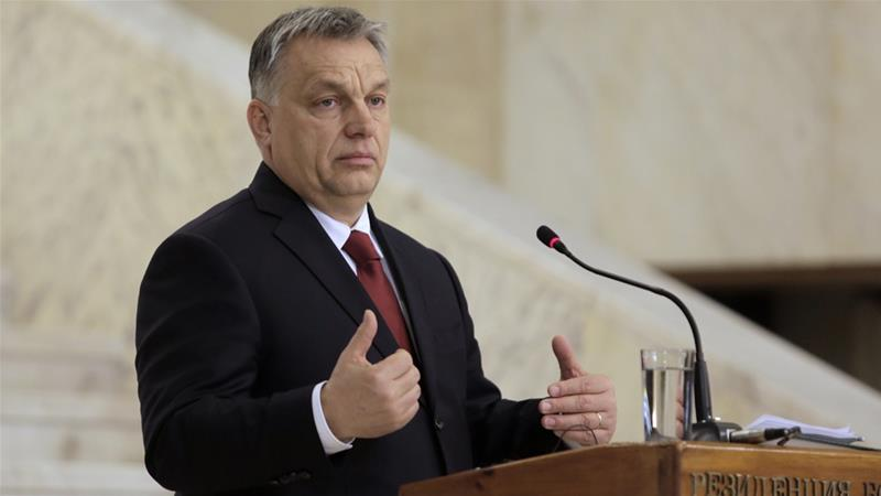 Hungarian people want to 'stop Soros,' says Orban
