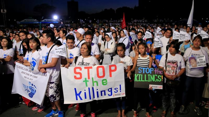 March against Philippine divorce Bill, drug war deaths