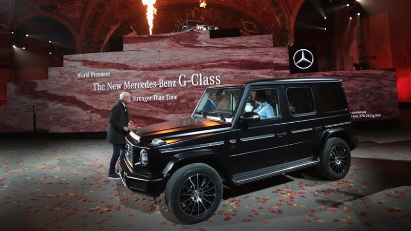 2019 Mercedes-Benz G- North American International Auto Show, January 14, 2018 in Detroit, Michigan [Photo/Scott Olson/Getty Images/AFP]