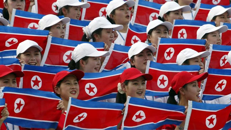 North Korea's response comes days after the US announced its 'heaviest sanctions ever' [Lee Jin-man/AP]