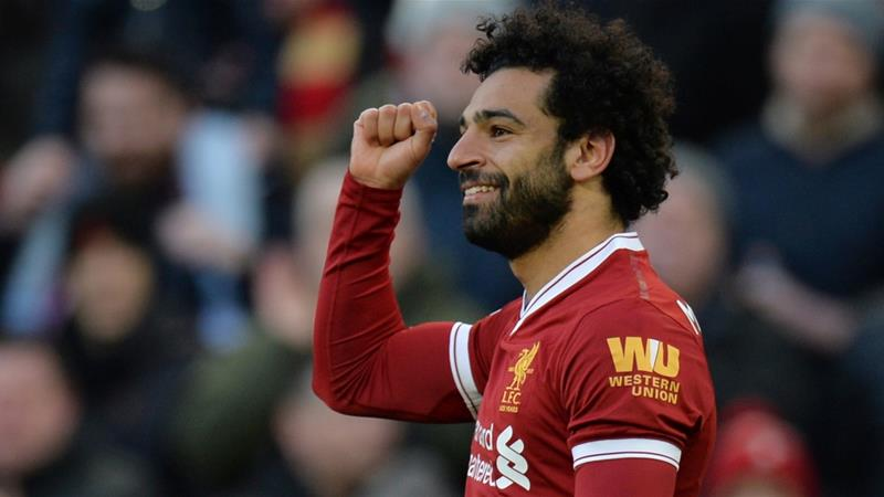 Mohamed Salah sets Premier League scoring record