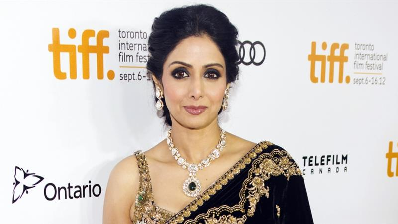 Sridevi was the first female Bollywood star after the 1987 film 'Mr India' [File: Reuters]
