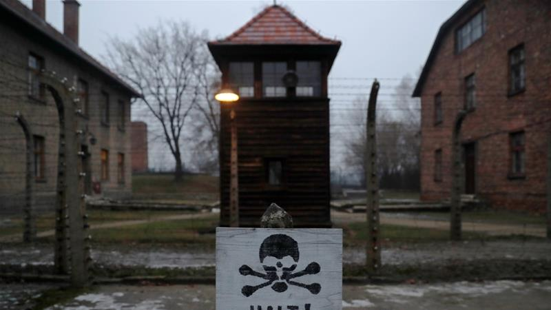 The former Nazi German concentration and extermination camp Auschwitz, Poland [Photo/Kacper Pempel/Reuters]