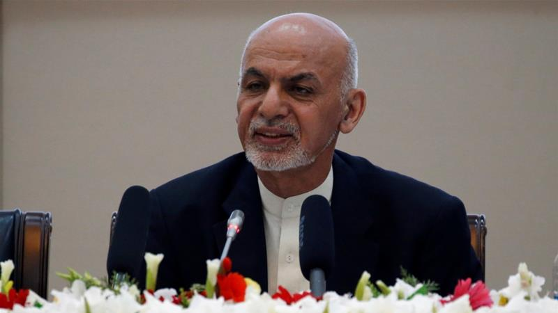 Ghani said fighting against other armed groups such as ISIL will continue [Omar Sobhani/Reuters]