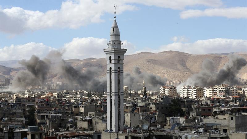 United Kingdom demands 'urgent debate' on Eastern Ghouta at UN