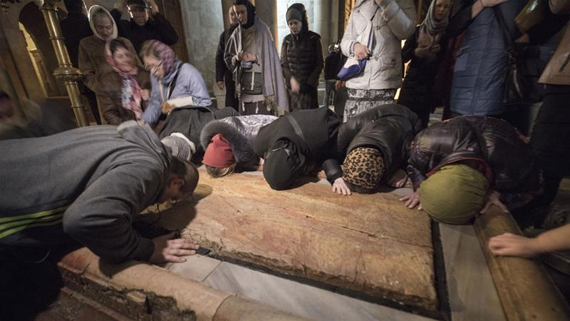 Jerusalem's Holy Sepulchre reopens: 'This is a victory'