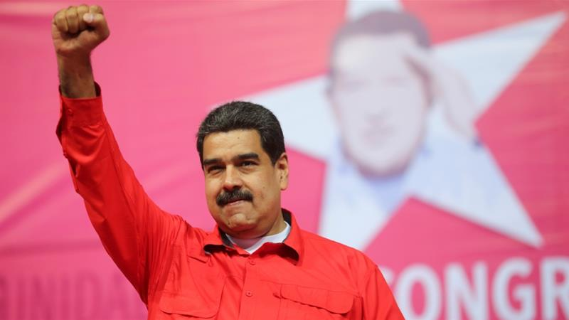 President Nicolas Maduro in Venezuela''s United Socialist Party in Caracas, Venezuela February 2, 2018. [Reuters]
