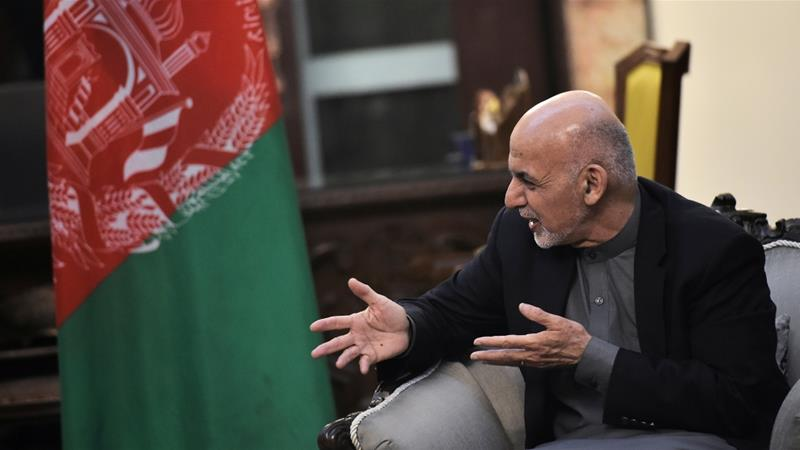 Afghan President says his government is open to peace talks with armed groups who accept peace [Mandel Ngan/Reuters]