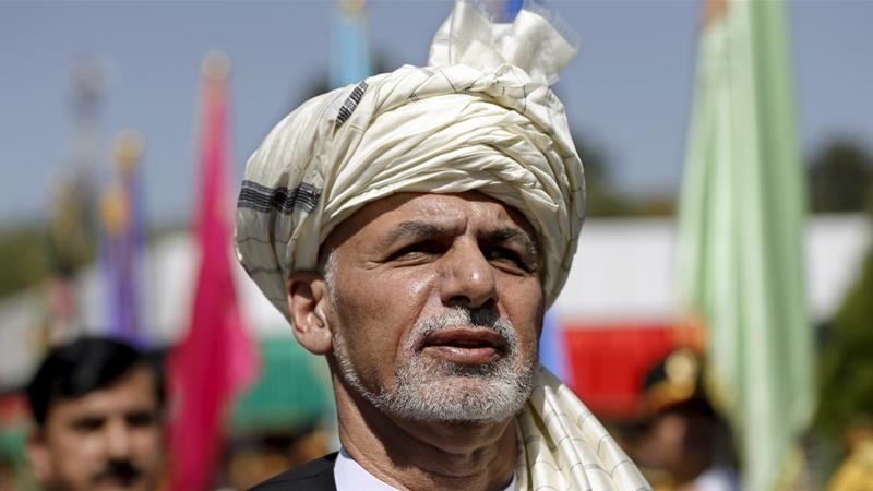 Afghan President Ashraf Ghani attends Afghan Independence Day celebrations in Kabul [File photo: Omar Sobhani/Reuters]