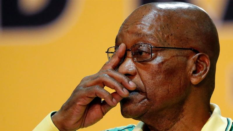 Zuma's speech postponed amid South Africa power struggle