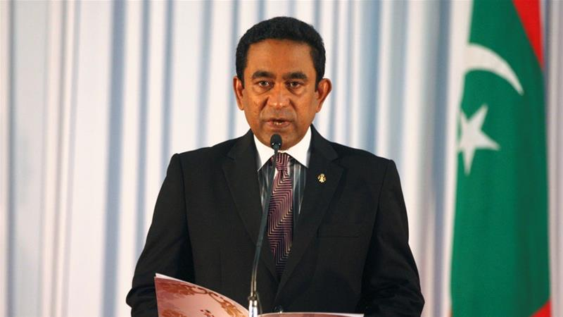 Abdulla Yameen took office as president of Maldives in November, 2013 [Waheed Mohamed/EPA]