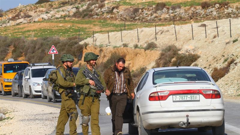 Since the Havat Gilad shooting, the Israeli army has been raiding Palestinian villages near the occupied West Bank city of Nablus [File: Anadolu]