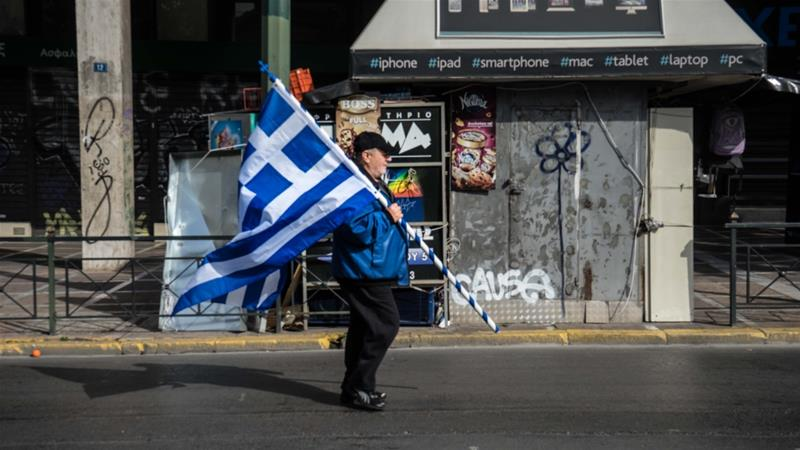 Tens of thousands of Greeks protest over Macedonia name dispute
