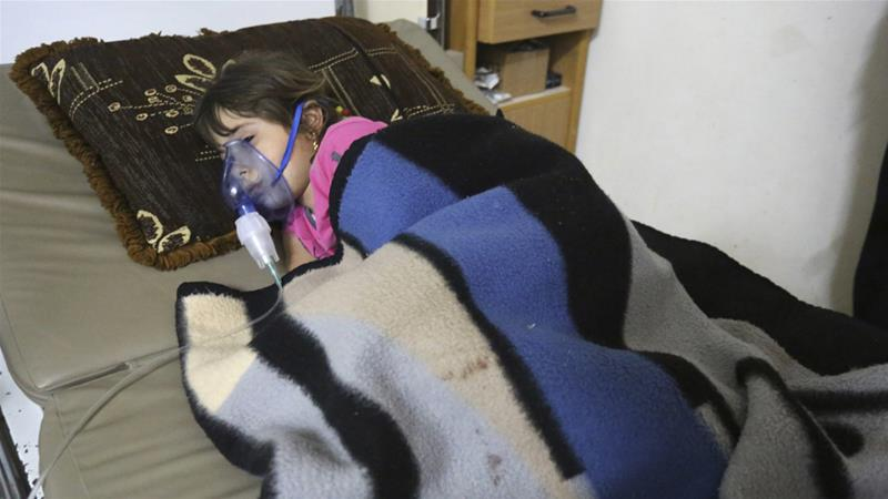 Syrian government is using chemical gas weapons on civilians, United Nations says