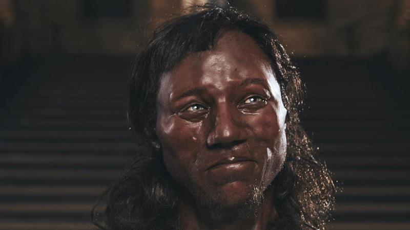Cheddar Man's characteristics were reconstructed using DNA analysis and 3D-scanning [University College London/Channel 4]