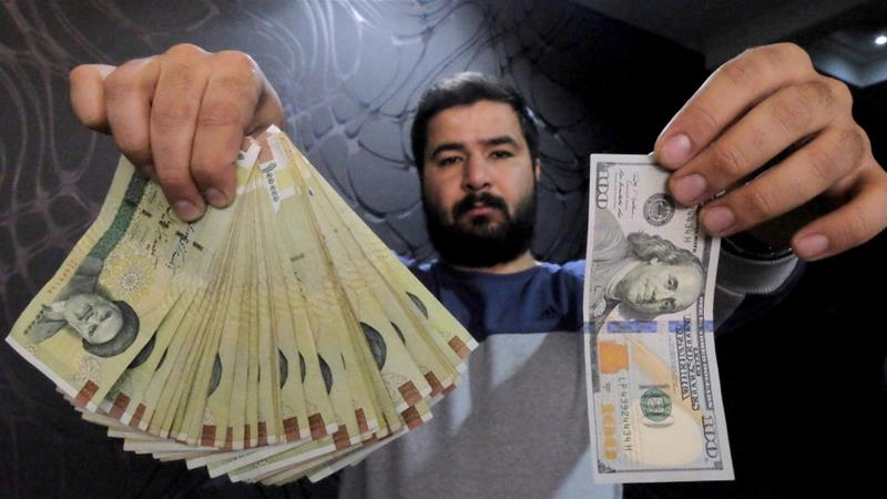This week's currency turmoil came after another significant fall in the value of rial in February [Raheb Homavandi/[Reuters]