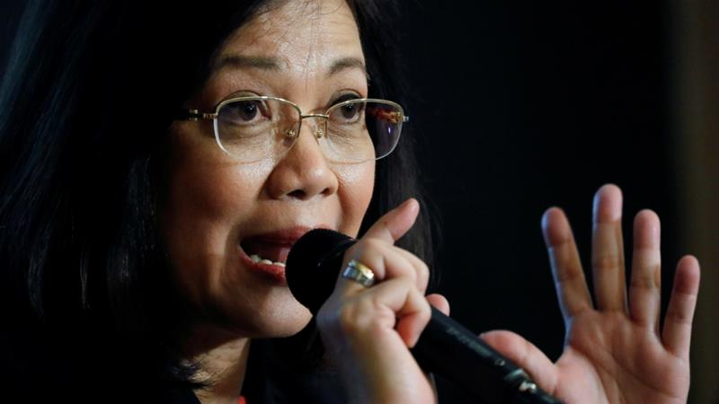 Chief Justice Maria Lourdes Sereno says she will not resign
