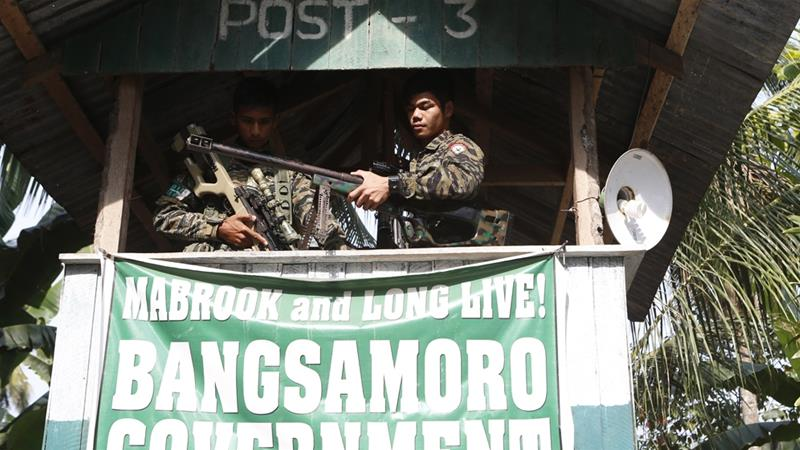 Passage of the Bangsamoro law has stalled multiple times because of clashes between the soldiers and armed fighters [Reuters]