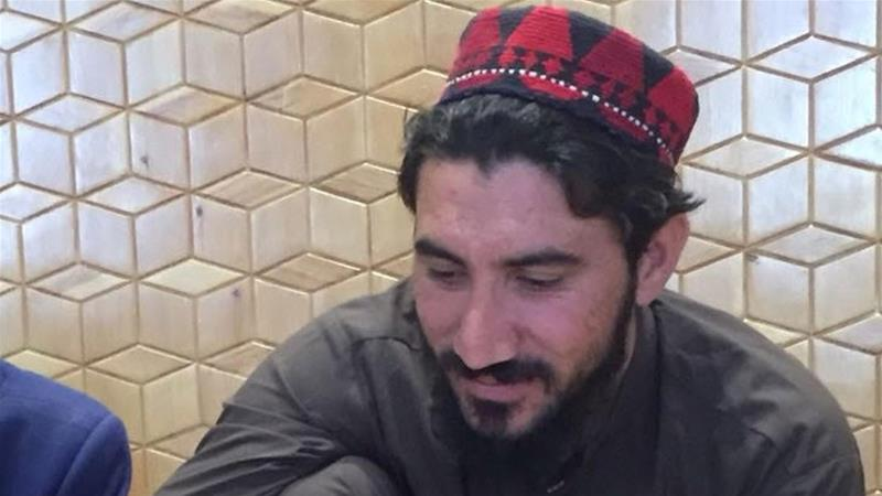 Pashteen is a 26-year-old graduate who is leading protests calling for the rights of Pashtuns to be respected [Al Jazeera]