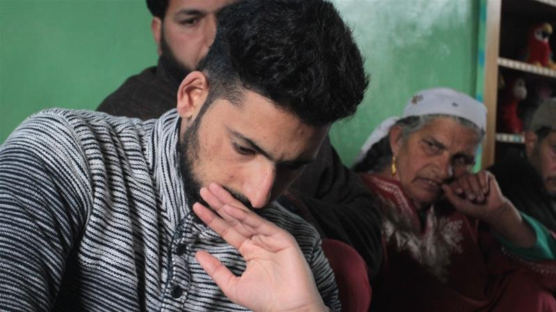 Kamran Yusuf returned to his hometown Pulwama on Thursday [Shuaib Bashir/Al Jazeera]