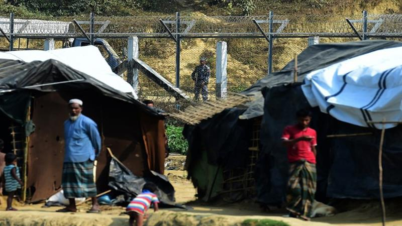 Rohingya refugees facing 'forced starvation'