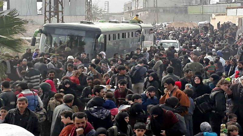 Evacuation Deal For Fighters In Eastern Ghouta Town Reached
