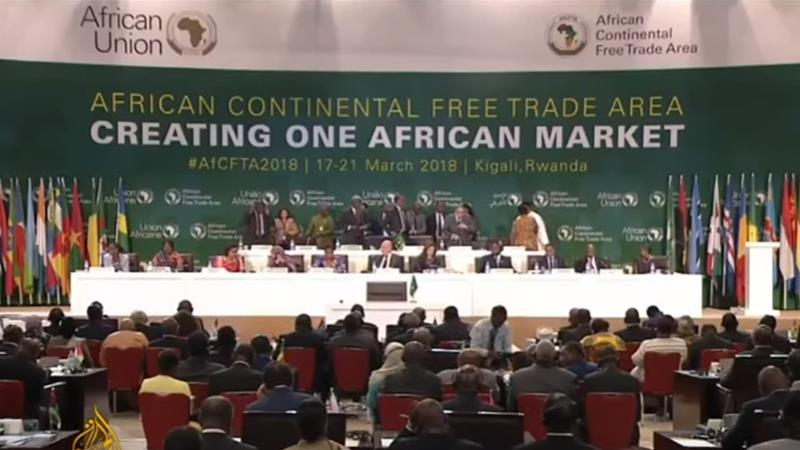 African Leaders Sign Continental Free Trade Agreement News Al