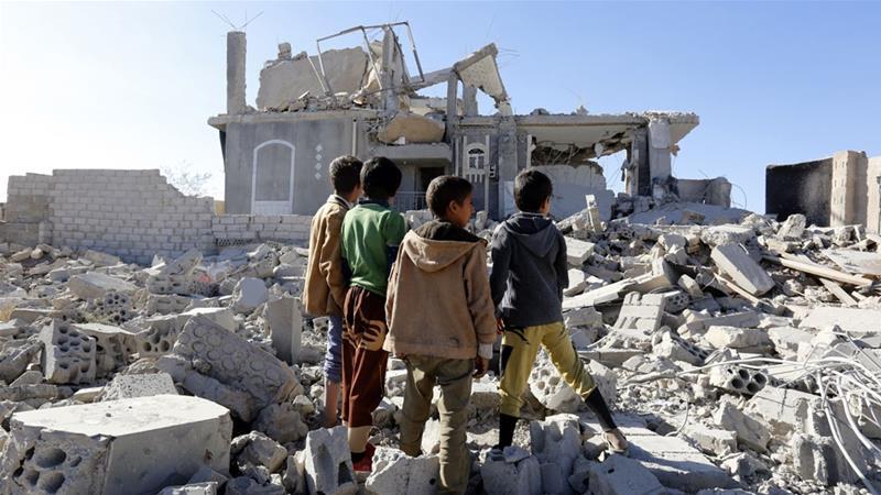 Arab Coalition forces target Houthi missile depots in Saada