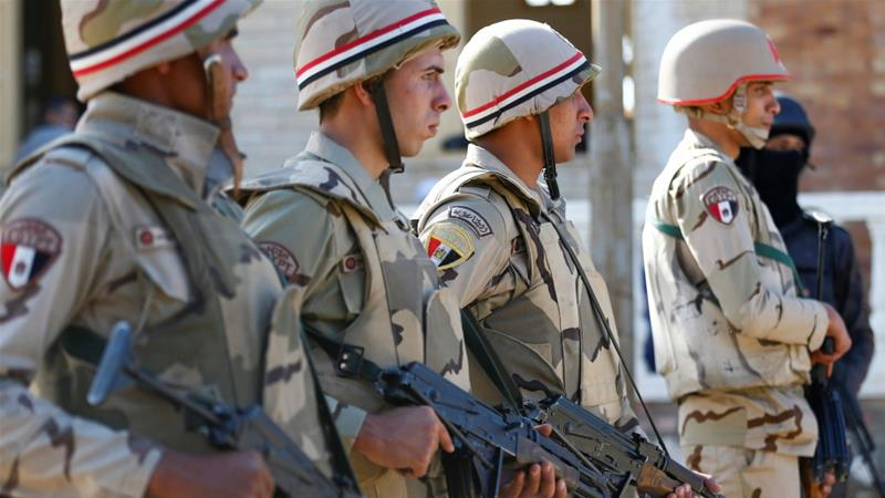 Bombing ahead of Egypt vote kills two policemen in Alexandria