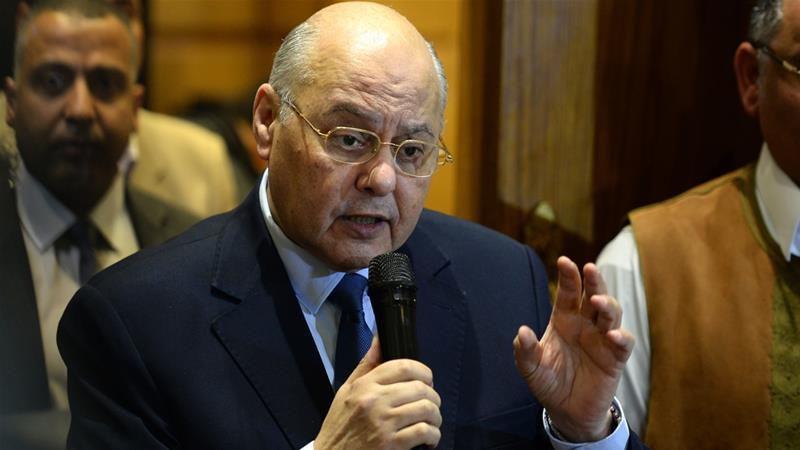 Mousa Mostafa Mousa, 65, emerged as the sole contender to Sisi in Monday's election [File: AFP]