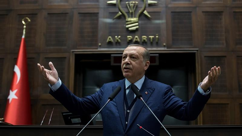 "Erdogan called Netanyahu an ""occupier"" in Palestine [Getty Images]"