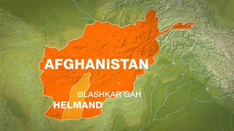 The explosion took place near a sports stadium in Lashkar Gah city in the southern Afghan province of Helmand
