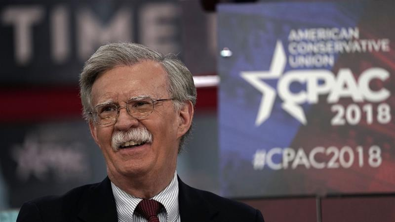 John Bolton is no warmonger