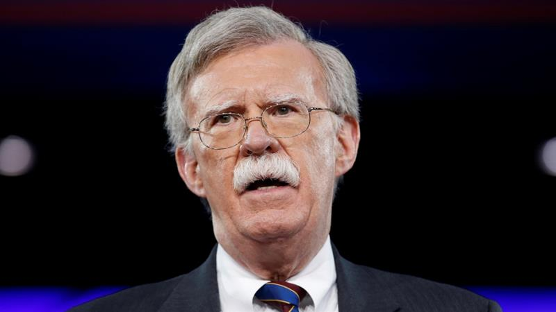 In a social media post late on March 22, Trump announced that Bolton will replace Lieutenant General HR McMaster as his chief adviser on national security beginning on April 9 [Reuters]